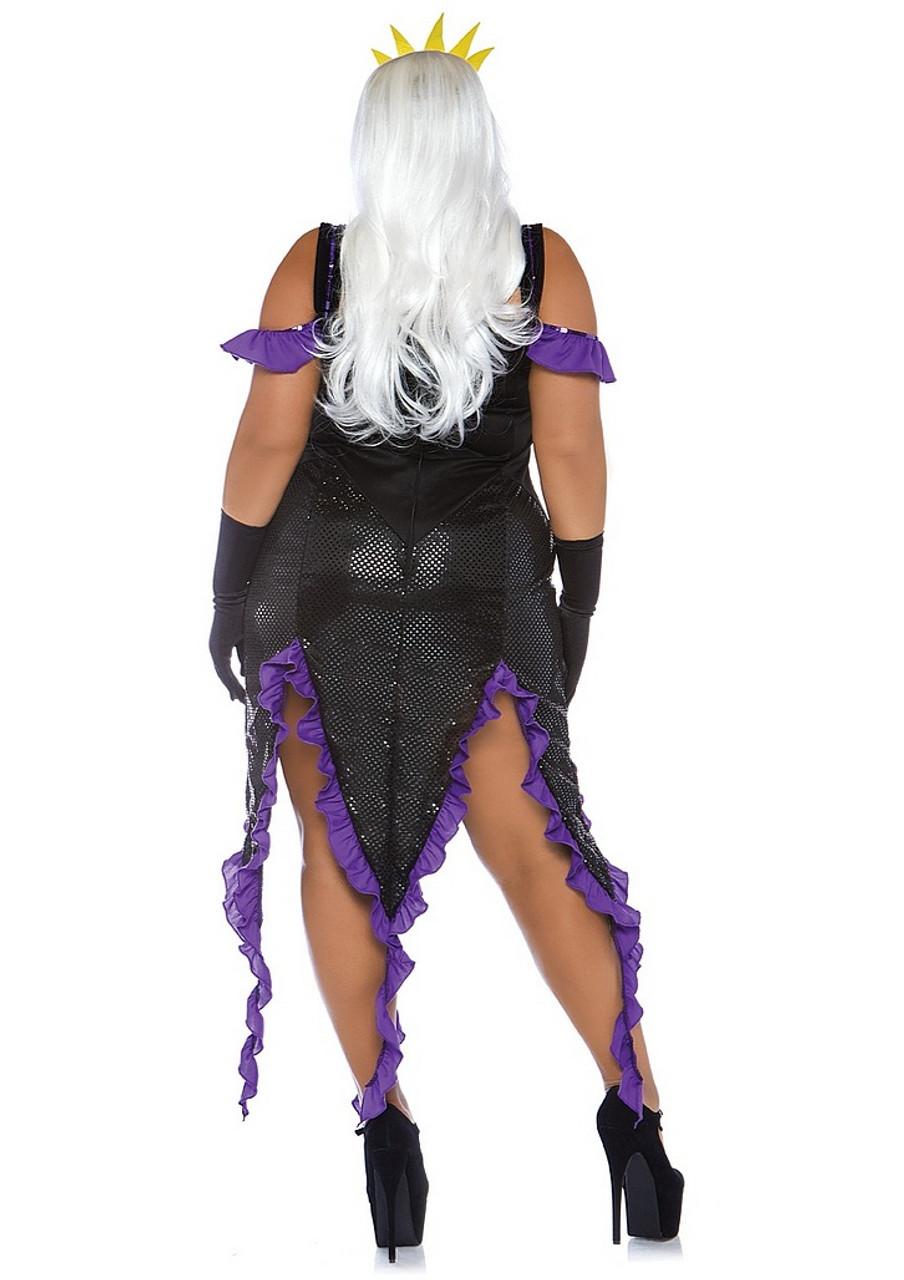 Nouveau maléfique costume-large-fée sorcière méchant halloween fancy dress party