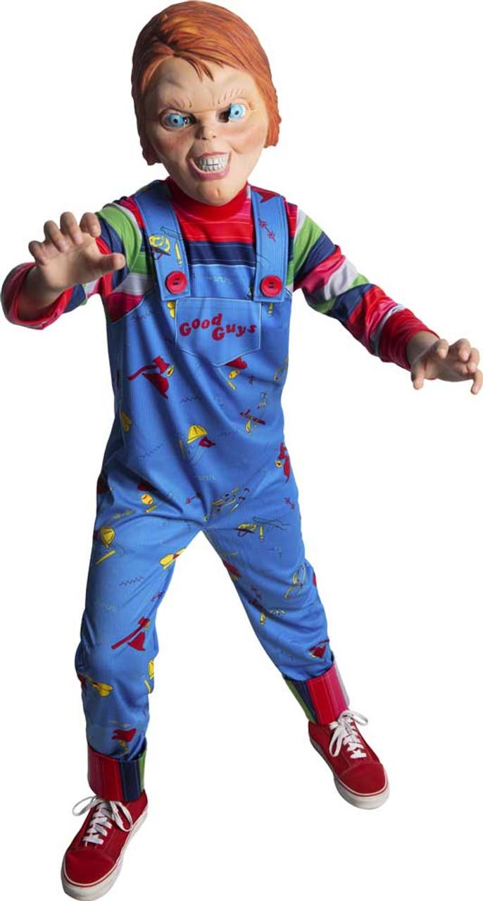 Enfants Garçons Enfants Horreur Chucky Poupée Halloween Enfant Costume Play