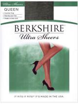 Ultra Sheer Pantyhose contrôle Queen Size Noir