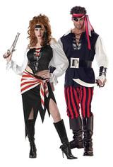 Costume de Ruby La Jolie Pirate back