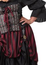 Costume Jeune Fille Pirate Taille Plus