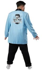 Costume de l'Adolescent des Années 50 Grande Taille - Image 2