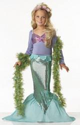 Costume d'Ariel la Petite Sirène back