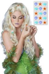Perruque Blonde de la Sirène Fantastique - Image 2