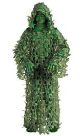 Costume du Militaire Camouflé pour Enfant back