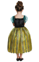 Frozen Anna Coronation Gown Deluxe Costume back