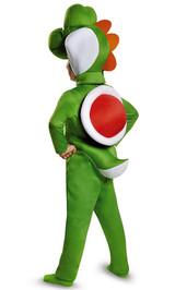 Costume de Yoshi Super Mario pour Bambin back