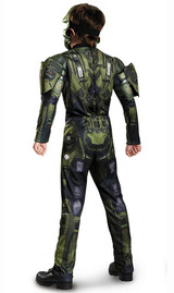 Costume Classique Musclé de Master Chief Halo back