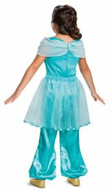 Costume Classique de Jasmine Disney pour Enfant back