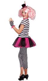 Costume du Clown Farceur pour Fille - Image 2
