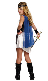 Costume de la Gladiatrice Romaine pour Fille - Image 2