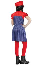 Costume du Joli Plombier Mario back