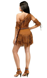 Costume Indien Pow Wow pour Adulte back