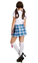 Costume d'écolière pour Fille back