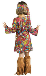 Costume du Bambin Hippie Peace and Love - Image 2