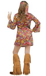 Costume peace&love  des années 60 pour fille - Image 2