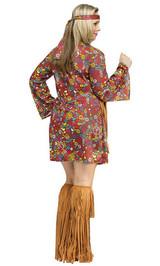 Hippie Peace&Love Taille plus back