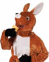 Costume de mascotte Saute Kangourou back