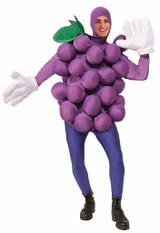 Costume de Raisin Violet pour Adulte back
