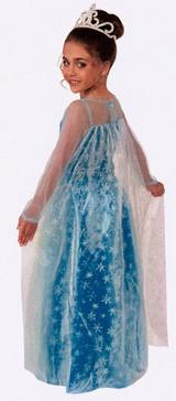 Costume Frozen de La princesse Elsa back