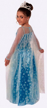 Costume Frozen de La princesse Elsa back