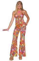 Costume de la Femme Hippie Chérie - Image 2