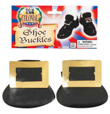 Colonial Shoe Buckles Gold