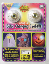 Décoration yeux changeant de couleur