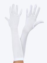 Child White Gloves