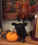 Black Owl Decor
