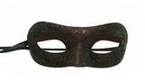 Venetian Masks Burgundy - image deux