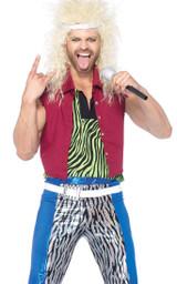 Costume Dieu du Rock des années 80