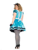 Costume d'Alice Bleue Ciel Taille Plus back