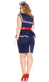 Costume Oui Oui Amy la Navigatrice Taille Plus back