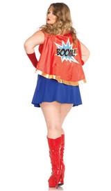Costume Wonder Woman BD Taille Plus back
