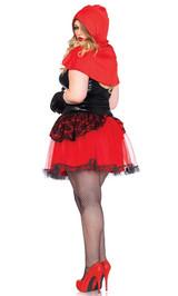 Costume du Magnifique Petit Chaperon Rouge Taille Plus back