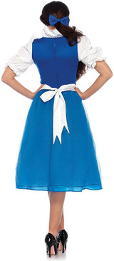 Costume Classique de Belle Villageoise back