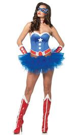 Équipement de la Captain American Girl - image deux
