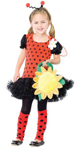 Costume de Coccinelle, Insecte de la Marguerite - image deux