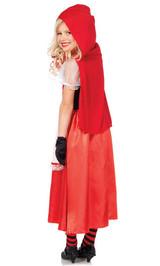 Costume Classique du Petit Chaperon Rouge pour Enfant back