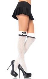 Haute crocheté Knee