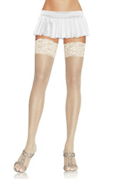 Plus Size Sheer Cuisse Highs
