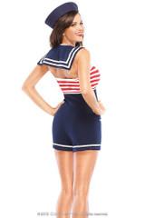 Costume de la Femme du Capitaine de Bord - image deux