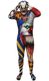 Combinaison de Clown Effrayant back