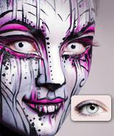 White Zombie Contact Lenses - image deux