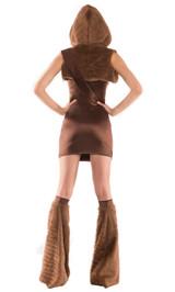 Costume Chewbacca de star wars back