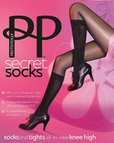 Pretty Polly Fabulous Secret Fashion Chaussette Cuissardes
