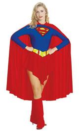 Costume de SuperGirl pour Adulte back
