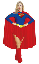 Costume de SuperGirl pour Adulte back
