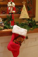 Chaussette Mignonne de l'Ours de Noël - image deux